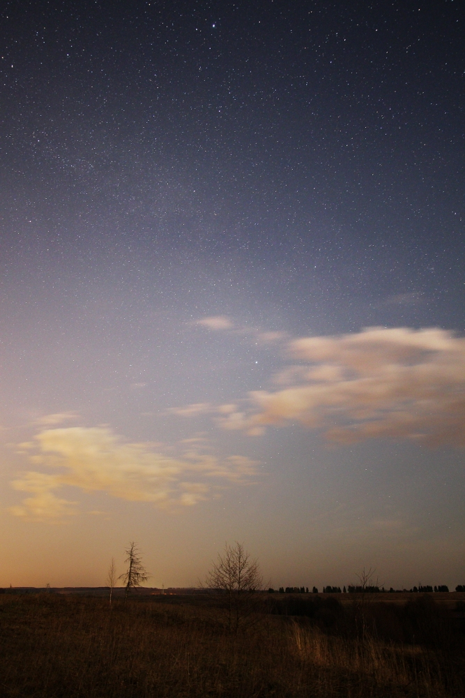 Re ночные астрономические пейзажи